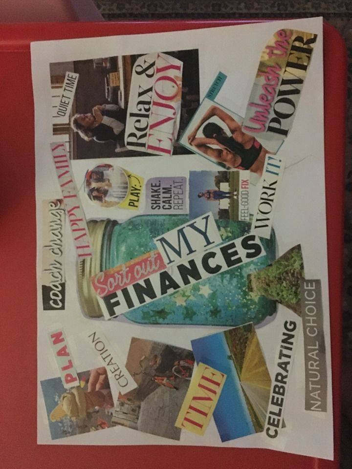 Make your life possible with a Vision Board Workshop